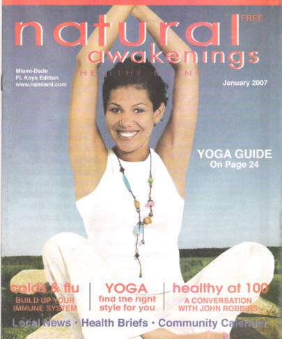 Interview In Natural Awakening Magazine
