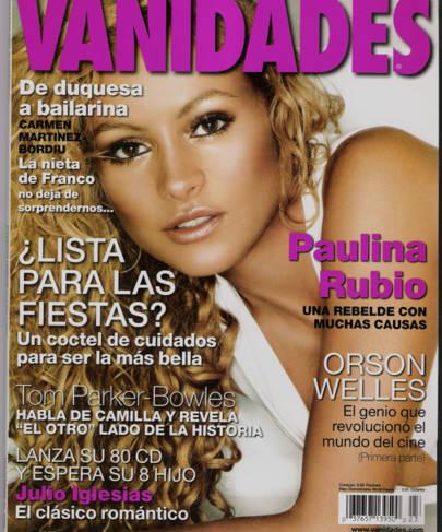 Interview In Vanidades Magazine