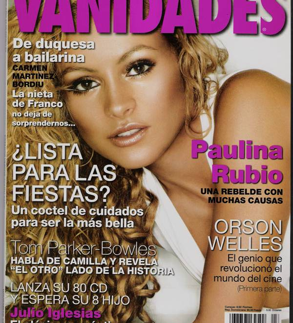Interview In Vanidades Magazine